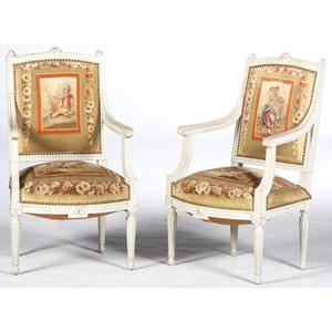 Louis XVI-style Armchairs