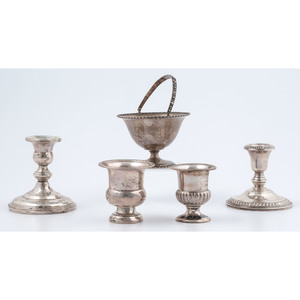 Sterling Compotes and Weighted Candlesticks