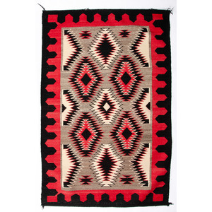 Navajo Eye Dazzler Weaving / Rug