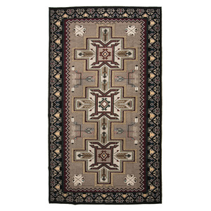 Navajo Teec Nos Pos Weaving / Rug, From the Collection of Robert B. Riley, Urbana, IL.