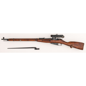 * Russian Izhevsk M91/30 Rifle with Scope