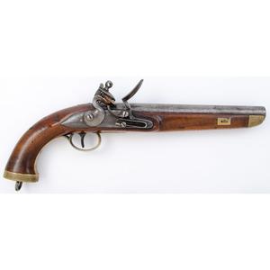 Belgian Military Flintlock Pistol