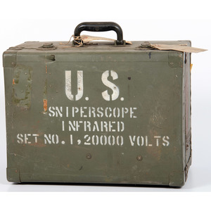 Empty Sniper Scope Case