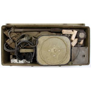 U.S. Army Mine Detector (C) in Crate