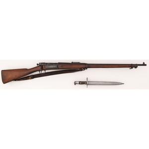 **U.S. Model 1898 Krag-Jorgensen Rifle with Bayonet