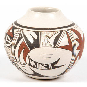 Joy Navasie (Hopi, 1919-2012) Pottery Jar, From the Robert B. Riley Collection, Illinois