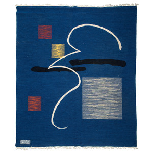 Ramona Sakiestewa (Hopi, b. 1948) Textile, From the Collection of Robert B. Riley, Urbana, IL.