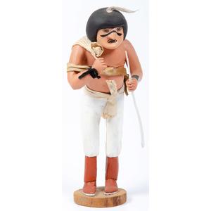 Raymond Naha (Hopi, 1933-1975) Farmer Katsina