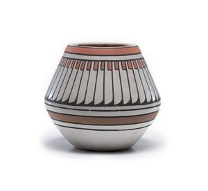 Crucita Calabaza, Blue Corn (San Ildefonso, 1921-1999) Polychrome Pottery