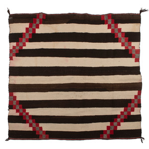 Navajo Chief's Style Weaving / Rug, From a Midwest Collection