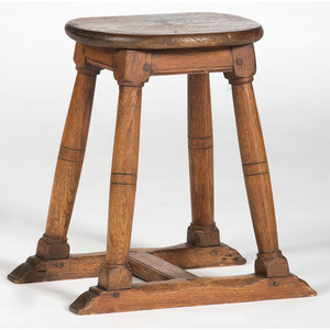 English Oak Stool