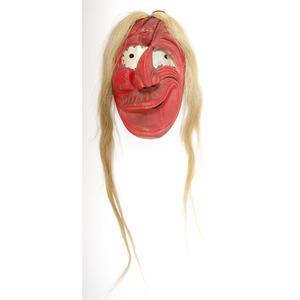 Haudenosaunee Carved Wood Mask