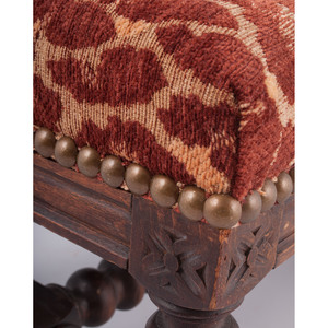 William and Mary-Style Footstool