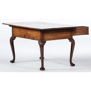 A Pennsylvania Queen Anne Walnut Work Table