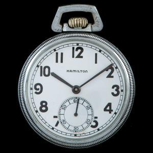 Hamilton US Navy Comparing 2974B Pocket Watch