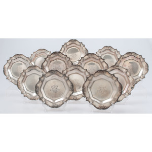 Gorham Sterling Bread and Butter Plates
