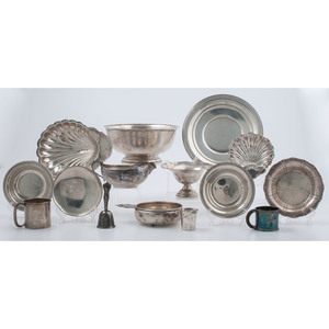 Sterling Hollow Ware, Including Gorham & Newport