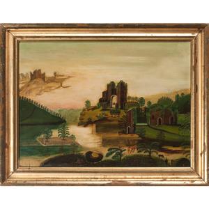 American School Landscape, Style of Thomas Chambers