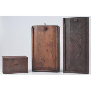 Wooden Slide Boxes