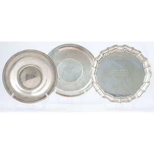 American Sterling Silver Trays