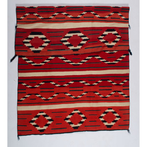 Navajo Late Classic Serape / Rug