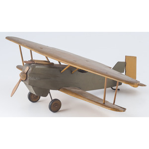 Wooden Toy Prop Plane