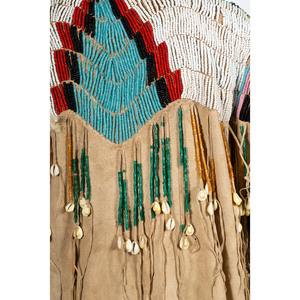 Nez Perce Pony Beaded Hide Dress, From the Stanley B. Slocum Collection, Minnesota