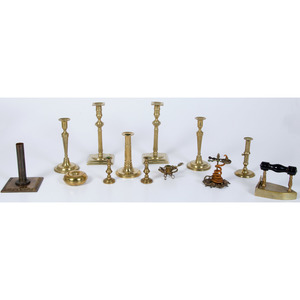 Brass Candlesticks, Plus