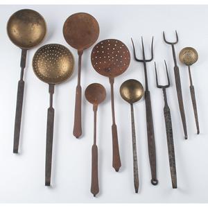 Cast Iron & Brass Tools