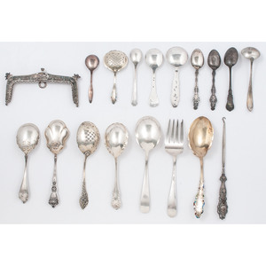 Sterling Silver Serving Pieces and Other Flatware