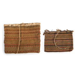 Menominee Wool Storage Bags, From the Stanley B. Slocum Collection, Minnesota