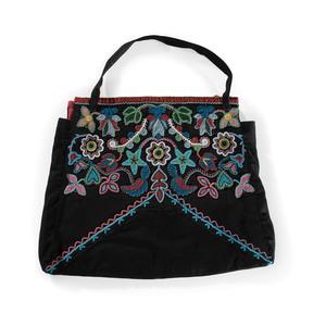 Prairie Beaded Wool Bag