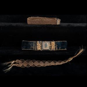 Mourning Bracelets, Lot of Four PLUS