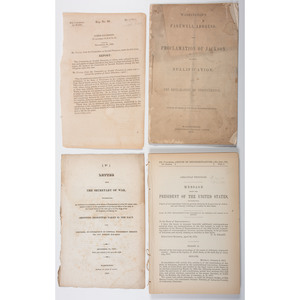 Miscellaneous Documents Related to Military Affairs, 1820-1885