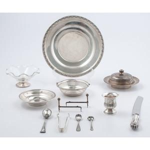 Sterling Silver Tableware, Plus