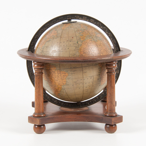 Rand McNally 8 Inch Globe on Stand