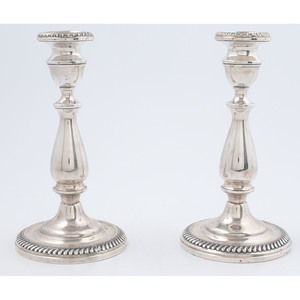 American Weighted Sterling Candlesticks