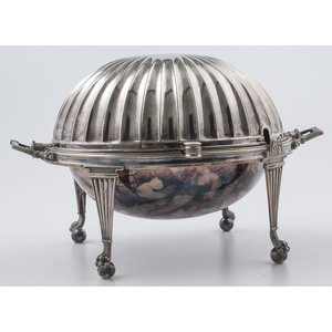 William Hutton Sheffield Plate Warming Dish