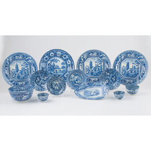 Ridgway, Rogers and Other English Blue Transferware