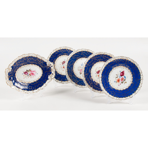 Rockingham Plates and Serving Dish