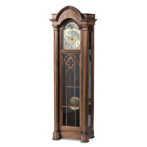 A Colonial Manufacturing Co. Seven Tube Tall Case Clock