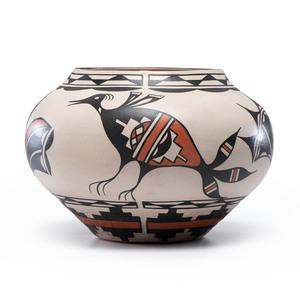 Ambrose Atencio (Santo Domingo, b. 1963) Polychrome Pottery Jar
