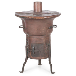 A Rare Copper Furnace or Water Heater