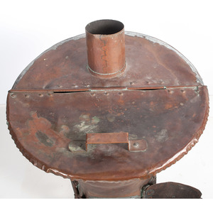 A Rare Copper Furnace or Water Heater