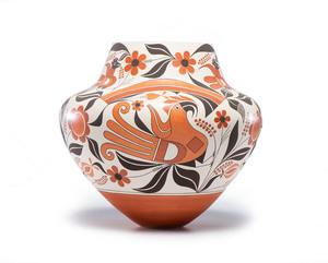 Joseph Cerno (Acoma, b. 1947) Polychrome Jar
