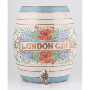 L. Lumley & Co. Ceramic Barrel, London Dry Gin