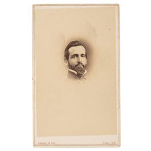 CSA General Richard Brooke Garnett CDV, KIA Gettysburg