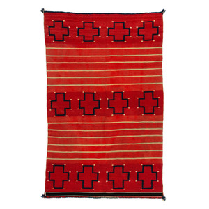Navajo Child's Late Classic Blanket / Rug