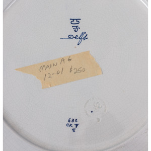 Delftware Plates and Plaques