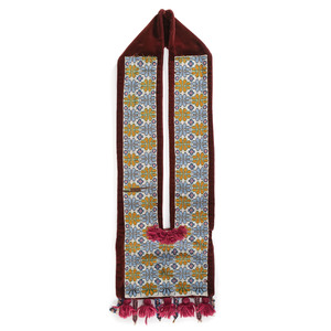 Potawatomi Loom Beaded Bandolier Bag